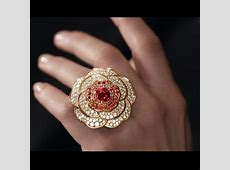 A look at Chanel's 1.5 camellia diamond jewels   The