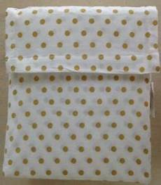 target metallic gold polka dot full sheet 100 cotton ebay