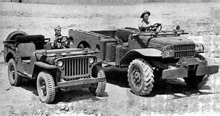 Willys MB And A Dodge WC  WWII Jeeps Pinterest