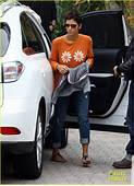 Halle Berry & Nahla Lunch Time With Olivier Martinez