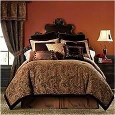 new chris madden palme chenille comforter king 335 rich browns gold vhtf ebay
