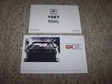 free online car repair manuals download 1987 buick skyhawk on board diagnostic system 1987 buick regal grand national owner owner s manual user guide set ebay