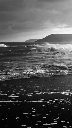 black and white waves iphone wallpaper black sea hd wallpapers top free black sea hd