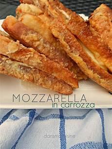 mozzarella carrozza dans ma cuisine la mozzarella in carrozza
