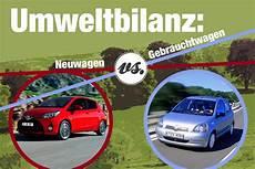 Klimarechner Altes Auto Versus Neuwagen Auto News