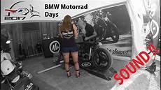 bmw motorrad days 2017 sound mit kesstech