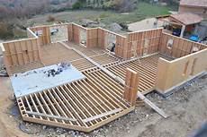 plan maison ossature bois fabricant de maison bois passive en vaucluse