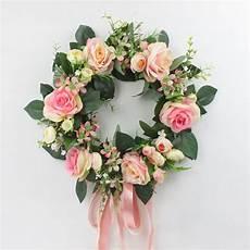cheap 35 cm rosa fiori artificiali ghirlande di fiori