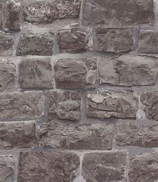 vliestapete stein vliestapete stein optik steinwand mauer grau 5818 15