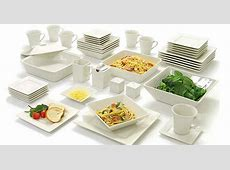 Walmart.com: Square Banquet 45 Piece Dinnerware Set Only