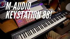 m audio keystation 88 new m audio keystation 88 mkii unboxing and review