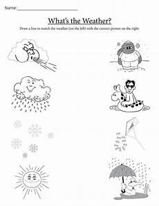 quot what s the weather quot printable matching worksheet weather worksheets weather activities