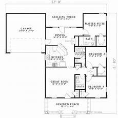 1250 sq ft house plans southern style house plan 3 beds 2 baths 1250 sq ft plan