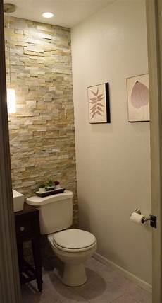 Bathroom Tile Ideas Half Bath by Half Bath Renovation Bathroom Makeover Half Bath