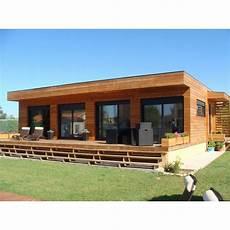 prix d une maison clé en maison toit plat en bois galaxy 80 m 178 au prix de 104 000