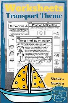 transport comprehension worksheets 15178 things that go transport theme ela reading writing and language worksheets writing skills