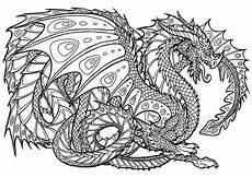 Ausmalbilder Drachen Erwachsene Fantasie 5 Ausmalbilder F 252 R Erwachsene