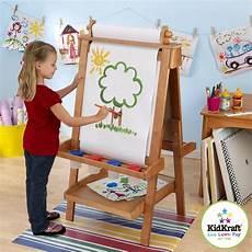 Kindermöbel Günstig Kaufen - kidkraft 62008 verstellbare holzstaffelei mit papierrolle