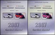 service manuals schematics 2007 chrysler town country navigation system 2007 chrysler town country dodge caravan repair shop manual original set