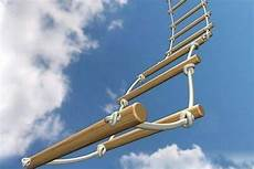 How To Climb A Rope Ladder Outdoors Your