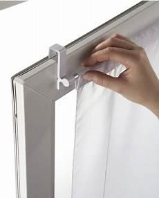 gardinenschiene ohne bohren spann gardinenstange 60 105 cm befestigung oben bistro
