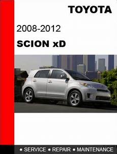 hayes auto repair manual 2011 scion xd engine control 2008 2009 2010 2011 2012 toyota scion xd service repair manual cd