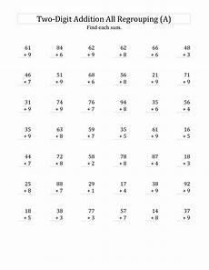 math worksheets addition grade 2 8968 2 digit math worksheets addition worksheets math worksheets math drills