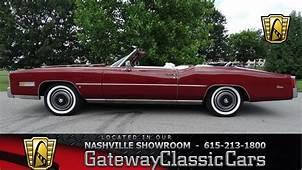 1975 Cadillac Eldorado Convertible Gateway Classic Cars