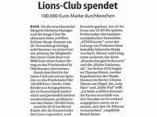 Club 44 Gelsenkirchen - presse lions club gelsenkirchen buer