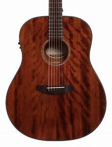 breedlove acoustic guitar breedlove pursuit dreadnought mahogany acoustic electric guitar w gigbag ebay