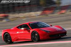 Driver Seat Gt 458 Italia Racetrack Test