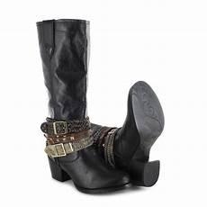 durango boots accessorize drd0072 black fashion stiefel