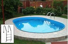 pool schwimmbecken premium oval set mit sandfilter 6x3