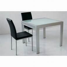 table verre design italien tables repas tables et chaises table repas extensible