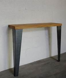 pieds de table de repas style industriel 72cm ref