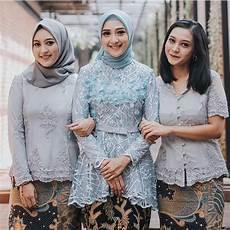 36 Aneka Model Kebaya Modern Brokat Muslim Cantik 2020