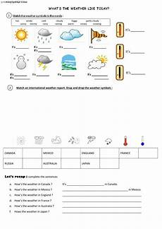 weather listening worksheets 14609 the weather interactive and downloadable worksheet you can do the exercises or