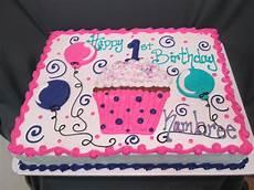 cupcake and balloon first birthday sheet cake sugarshackscia birthday sheet cakes sheet cake