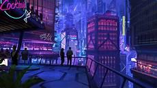 Neon Retro Cyberpunk Wallpaper by Digital Cityscape Cyberpunk Wallpapers Hd Desktop