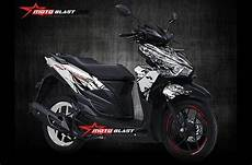 Striping Vario 125 Modif by Modifikasi Striping Vario 125 150 Esp Livery Kabuki By