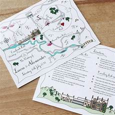 Map For Wedding Invitations