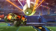rocket leaguze rocket league the car soccer everyone time