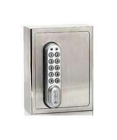 Schlüsseltresor Mit Code - schl 252 sselsafe elektronisch mit code aus edelstahl masunt