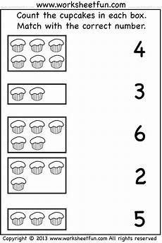 count and match one worksheet free printable worksheets worksheetfun