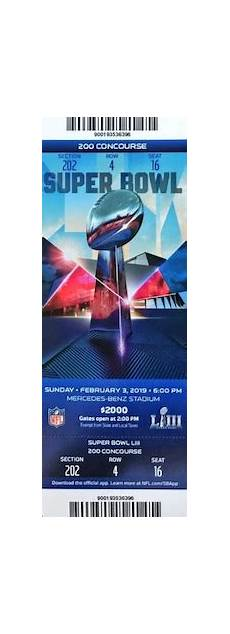 super bowl tickets history list image gallery collecting buying guide