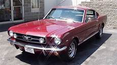1965 ford mustang gt fastback 289 v8 four speed startup