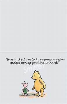 winnie the pooh goodbye quotes quotesgram