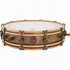 wood hoop snare a f drum co 4 quot x 18 quot gun snare drum with wood hoops and floor tom legs gnsht sn 0418 legs