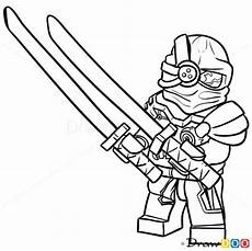 Lego Ninjago Nindroid Ausmalbilder How To Draw General Cryptor Lego Ninjago