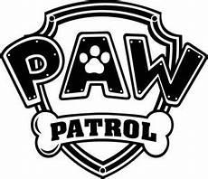 Paw Patrol Logo Malvorlagen Paw Patrol Logo Wall Sticker Set Decor Decal